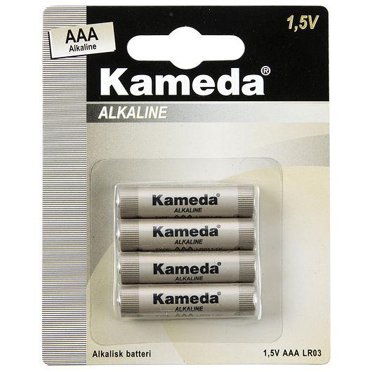 Kameda - Alkaline AAA 4-pak