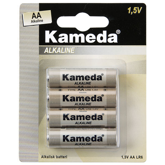 Kameda - Alkaline AA 4-pak