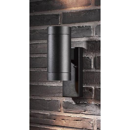 Sartano - Væglampe Orø 2x35W GU10 - sort