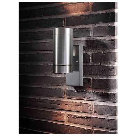 Sartano - Væglampe Orø 2 x 35 W GU10 - aluminium