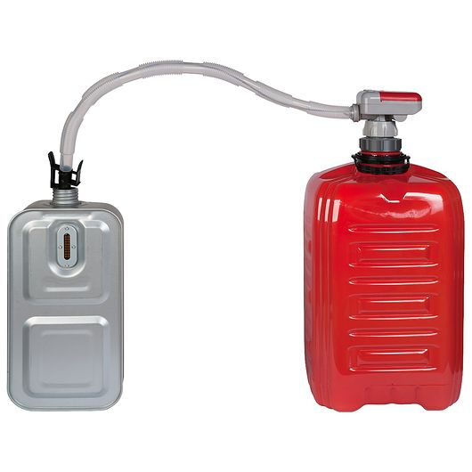 KaminX - Pumpe med autostop 10/20 liter