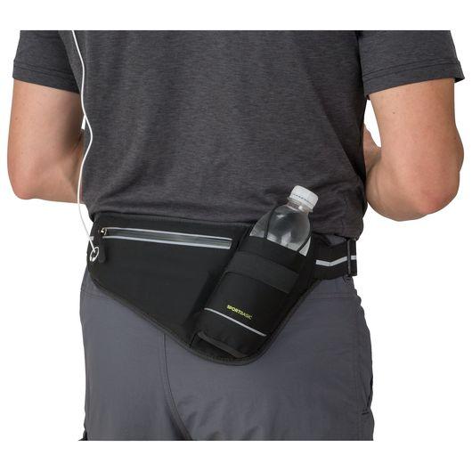 SportBasic - Løbebælte med flaskeholder