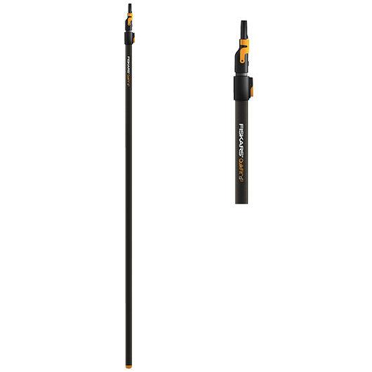Fiskars QuikFit - Tagrenderenser med teleskopskaft