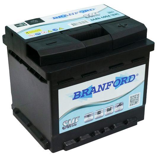 BRANFORD - Autobatteri 44 Ah +højre