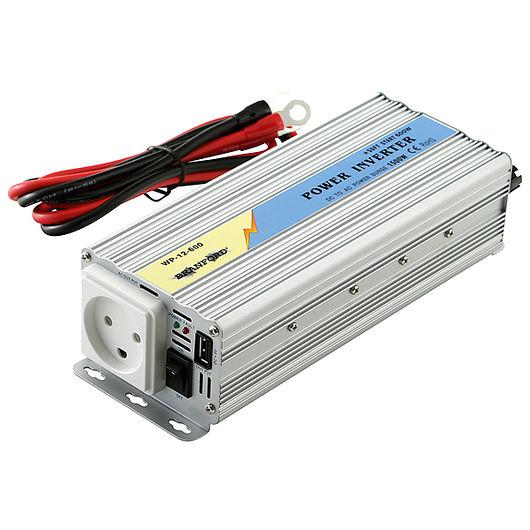 BRANFORD - Inverter/omformer 600 W 12 V til 230 V