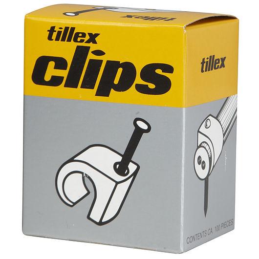 Tillex clips 8-12 mm grå
