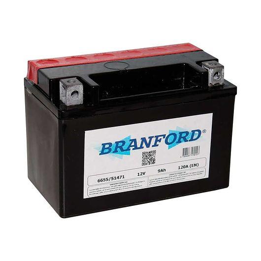 BRANFORD - MC-batteri 8 Ah/12 V