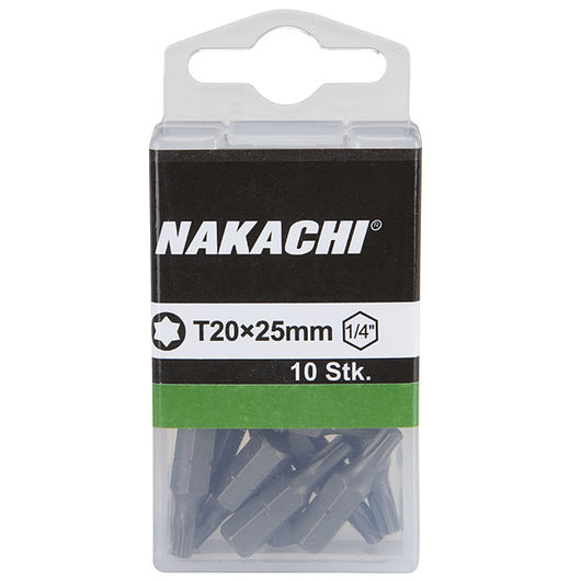 Nakachi bits TX20 25 mm 10-pak