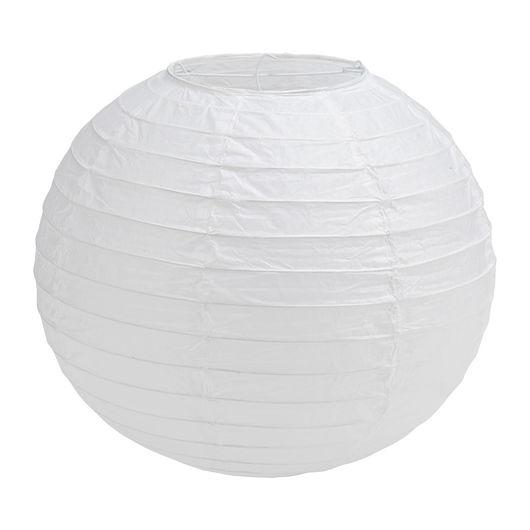 Rispapirlampe uden ophæng - Ø. 30 cm
