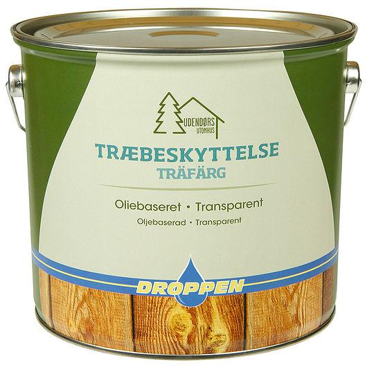 Droppen - Træbeskyt mahogni 4 L