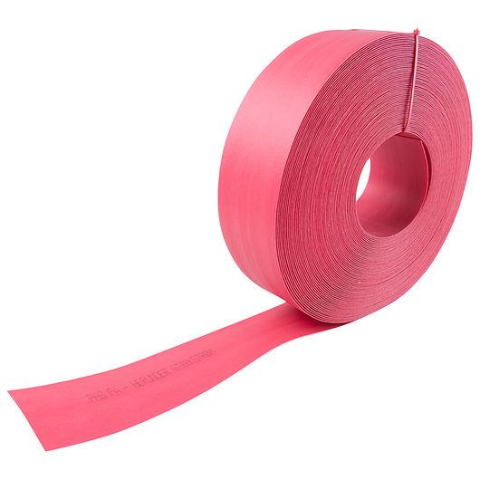 Afdækningsbånd - rød 100 mm x 50 m