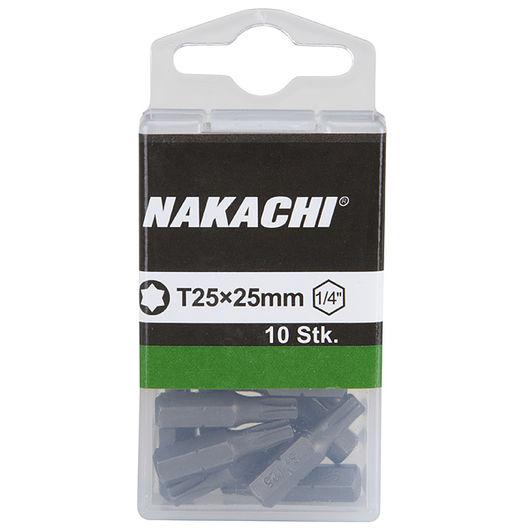 Nakachi bits TX25 25 mm 10-pak