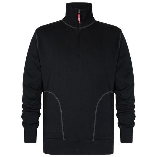 Engel sweatshirt med høj krave - str. M
