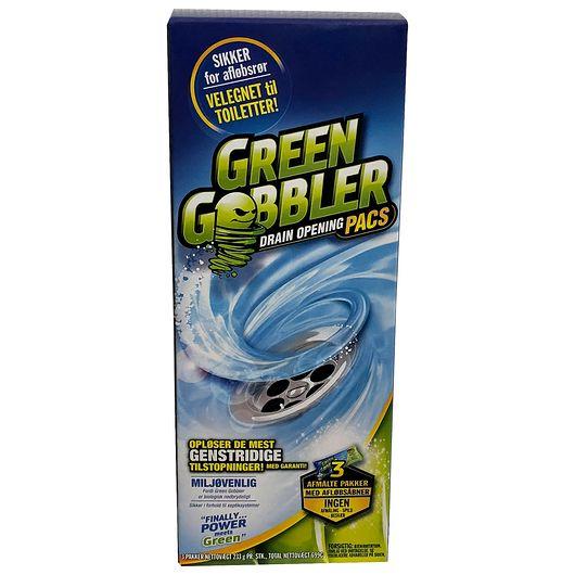 GREEN GOBBLER afløbsrens 3-pak
