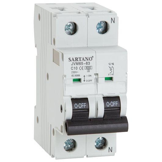 Sartano - Automatsikring 1 P + NC 10 A