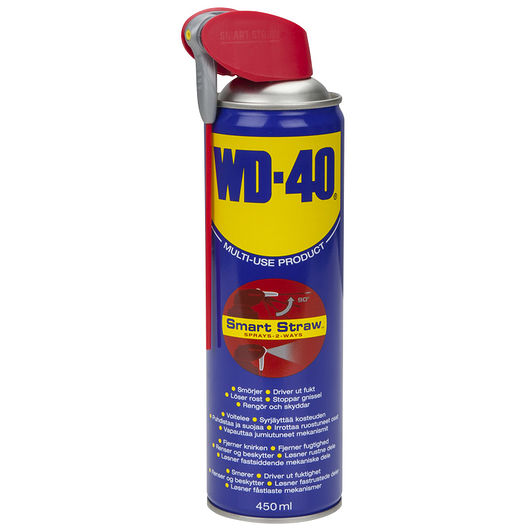 WD40 - WD40 med smart strå - 450 ml