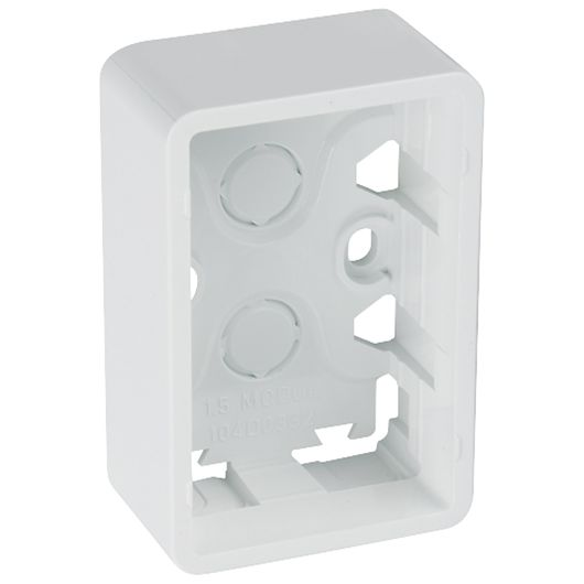 FUGA underlag 1½ modul hvid