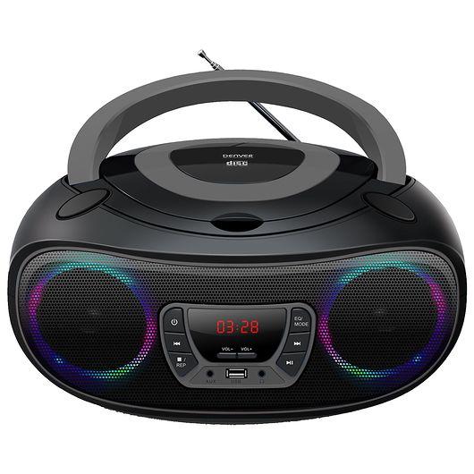Denver - Bluetooth boombox med LED-lys