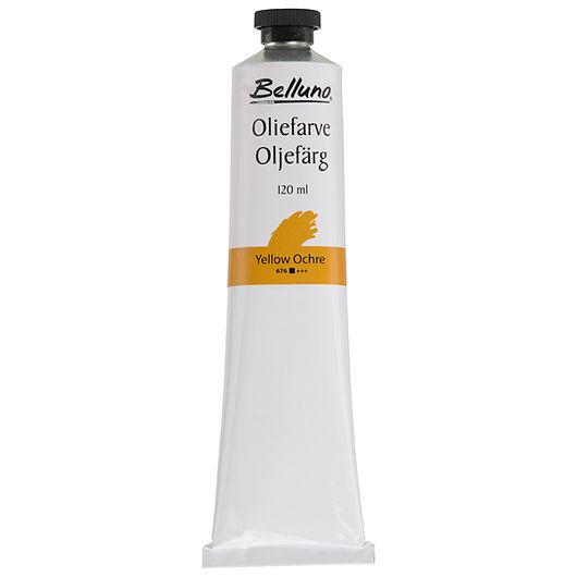 Belluno - Oliefarve 120 ml okkergul