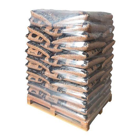 Træpiller 8 mm 280 poser - 5 paller