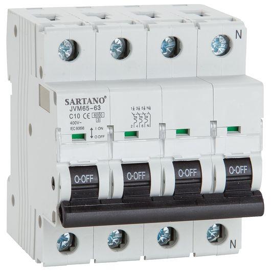 Sartano - Automatsikring 3 P + NC 10 A