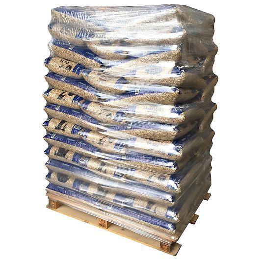 Træpiller 6 mm 280 poser - 5 paller