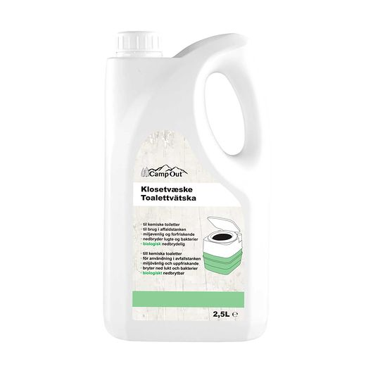 Klosetvæske grøn 2,5 liter