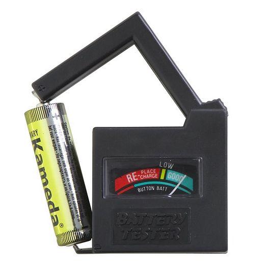 Batteritester til tørbatterier