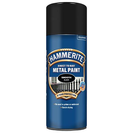 Hammerite spray 400 ml sort