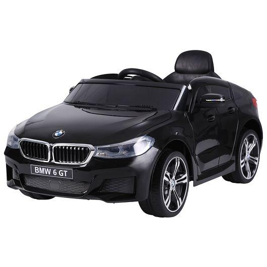 Elbil BMW 6 GT 12V - sort