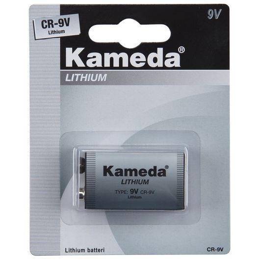 Kameda lithium batteri 9 V