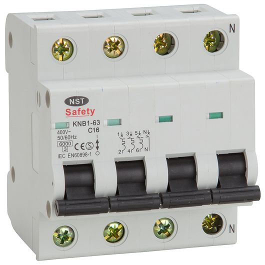 Sartano - Automatsikring 3 P + NC 16 A