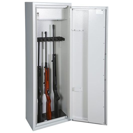 Våbenskab til 9 våben - med overskab