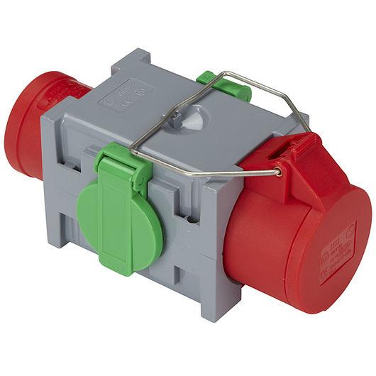 CEE forgrenerboks 1 x 400 V og 2 x 230 V