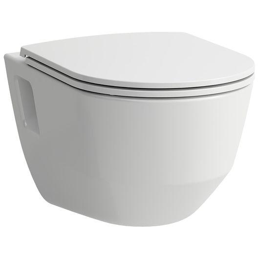 LAUFEN PRO - Væghængt toilet med sæde