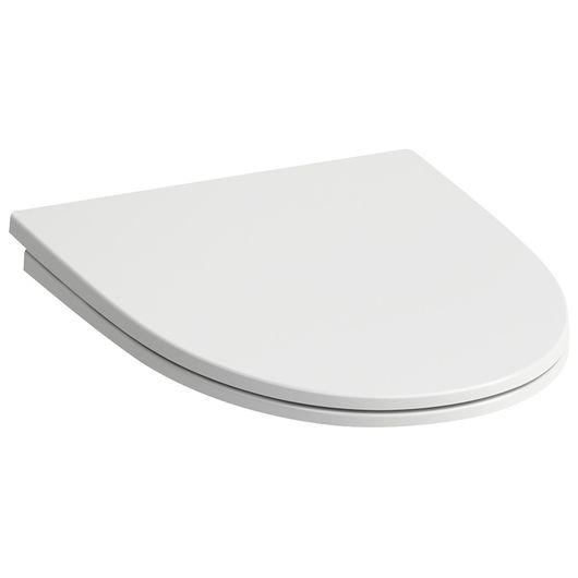 LAUFEN Kompas - Toiletsæde med softclose og låg