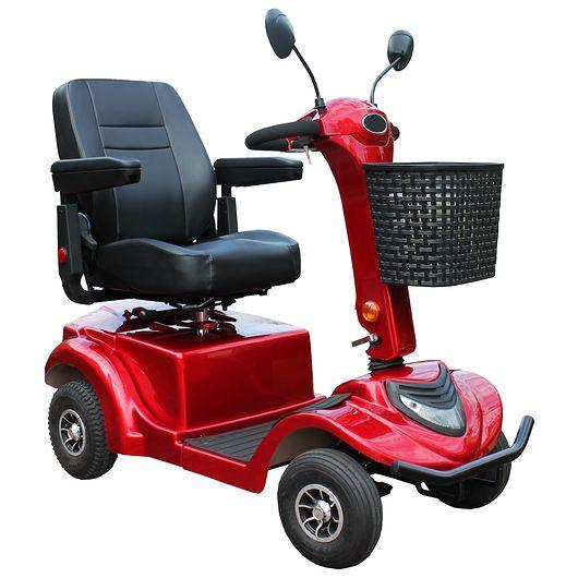 El-scooter med 4 hjul X20