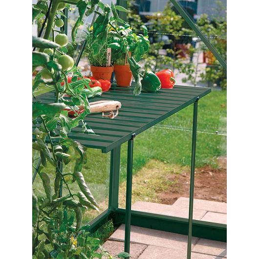 Vitavia - Foldebord til drivhus grøn