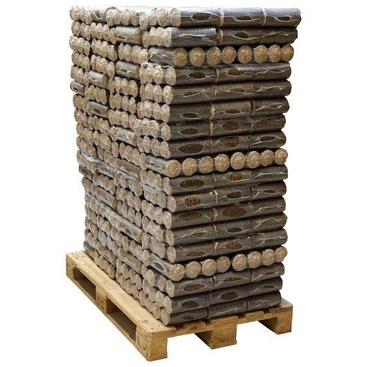 Hårdttræsbriketter 198 pakker - 1 palle