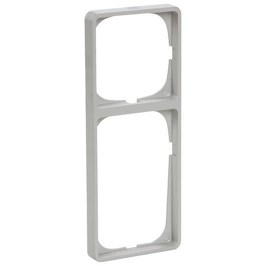FUGA ramme BASELINE 50 2 ½ modul grå