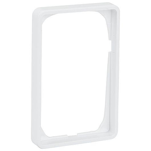 FUGA ramme BASELINE 50 1 ½ modul hvid