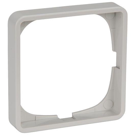 FUGA ramme BASELINE 50 1 modul grå