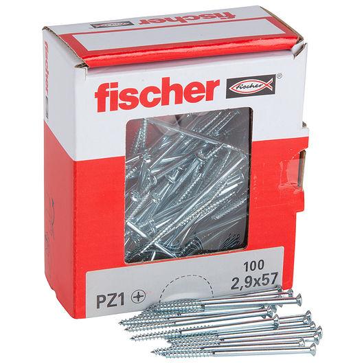 Fischer afbryderskrue 2,9 x 57 mm 100 stk.