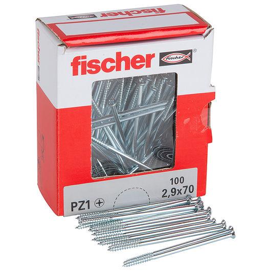 Fischer afbryderskrue 2,9 x 70 mm 100 stk.