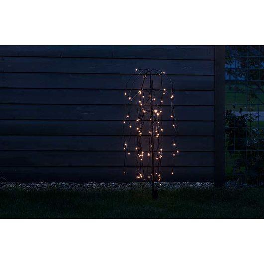 Nowel - Piletræ 96 LED 100 cm batteri og timer