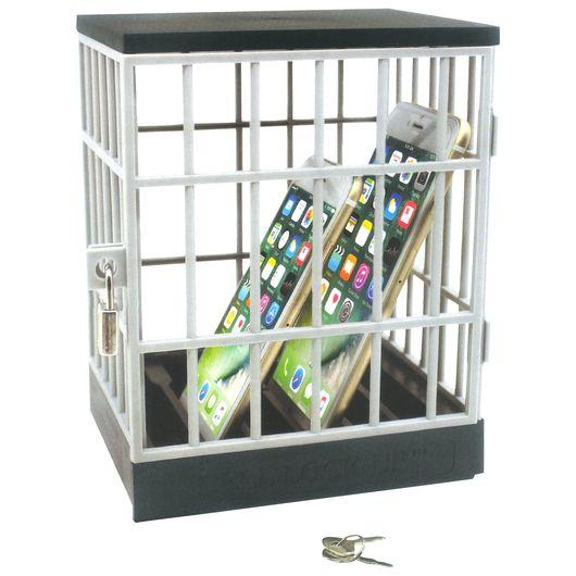 Telefonfængsel med lås+nøgle