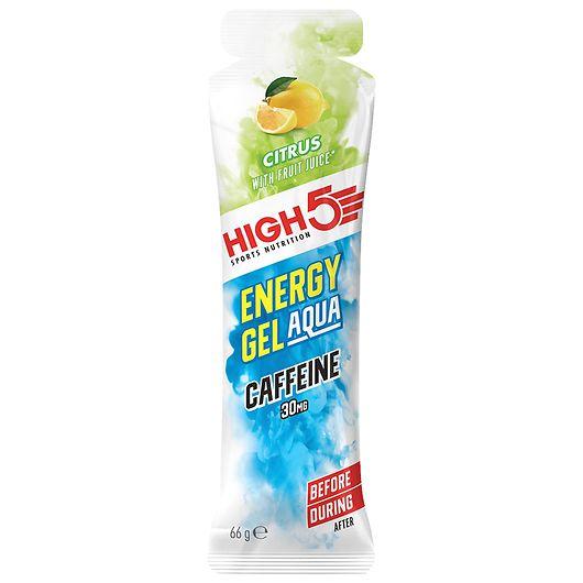 HIGH5 aquagel med koffein - citrussmag 60 ml