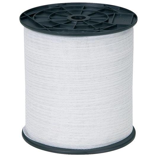 Hegnstråd 10 mm 200 m hvid nylon