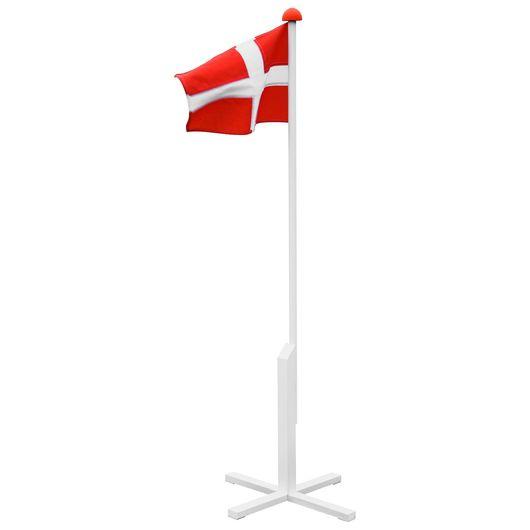 Flagstang med flag - 150 cm