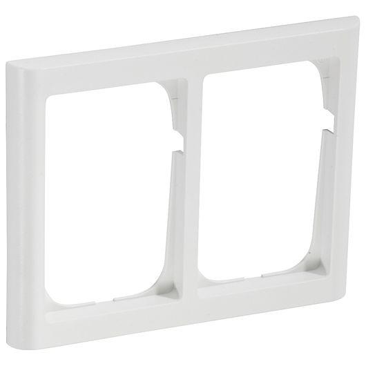 FUGA softline 63 1½ modul vandret hvid